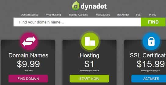 dynadot coupon dominios 2012