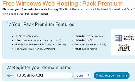 dominios gratis