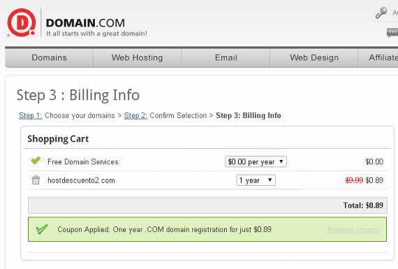 domain oferta