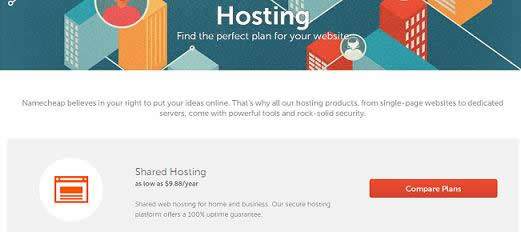 namecheap hosting oferta