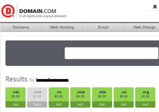 domain 1 dolar tranfer